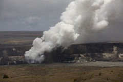 Kilauea Caldera 9738 Royalty Free Stock Images