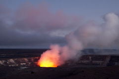 Kilauea Caldera Stock Photography