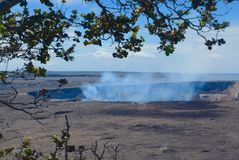 Kilauea Caldera Royalty Free Stock Photography