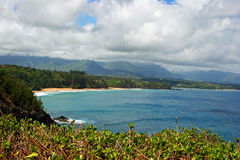 Kilauea coastline on Kauai Stock Images