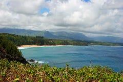 Kilauea coastline on Kauai Stock Images