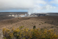 Kilauea Crater Royalty Free Stock Photos