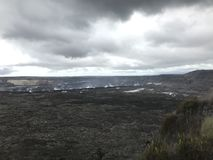 Kilauea crater on the Big Island royalty free stock photo