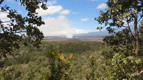 Kilauea fumarento fotografia de stock