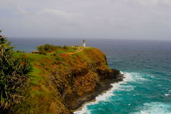 Kilauea fyr Royaltyfri Bild