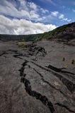 Kilauea Iki足迹 库存照片