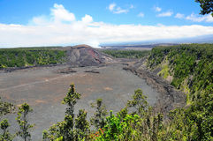 Kilauea Iki Crater Stock Photo
