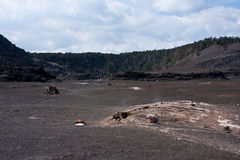 Kilauea Iki Crater Stock Photos