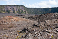 Kilauea Iki Crater Royalty Free Stock Image