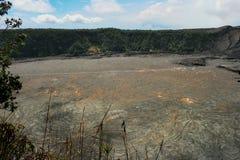 Kilauea Iki Crater at Hawaii Volcano National Park Stock Photography