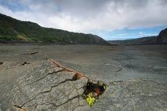 Kilauea Iki Crater trail in Hawaii Stock Image