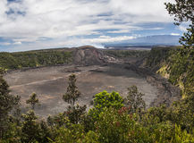 Kilauea Iki Crater Royalty Free Stock Photo