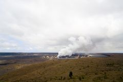 Kilauea Kessel, Kona, HI stockfotografie