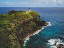Kilauea Leuchtturm stockbild