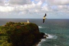 Kilauea Leuchtturm stockfoto