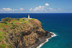 Kilauea-Leuchtturm stockbilder