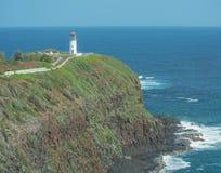 Kilauea Leuchtturm lizenzfreies stockbild