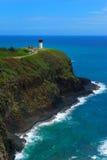 Kilauea Leuchtturm auf Kauai lizenzfreie stockfotografie