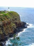 Kilauea-Leuchtturm und Schutzgebiet, Kauia Hawaii Amerika USA stockfotos