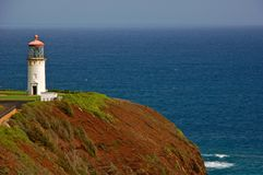 Kilauea lighthouse, Royalty Free Stock Images