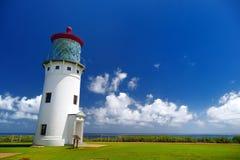 Kilauea lighthouse bay on a sunny day in Kauai Royalty Free Stock Photography
