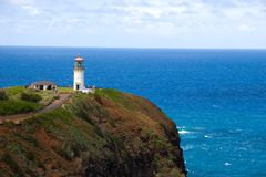 Kilauea Lighthouse In Kauai Stock Image