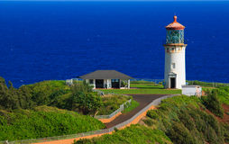 Kilauea Lighthouse, Kauai Hawaii Royalty Free Stock Photo