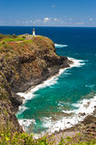 Kilauea lighthouse - Kauai, Hawaii Royalty Free Stock Photo