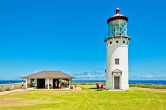 Kilauea lighthouse in Kauai island, Hawaii Royalty Free Stock Image
