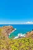 Kilauea lighthouse in Kauai island, Hawaii Royalty Free Stock Image