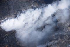 Kilauea menace des maisons d'Hawaï Photographie stock libre de droits