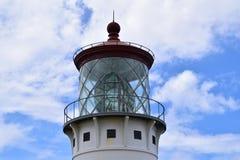 Kilauea Point Lighthouse top in Kauai Hawaii Stock Image