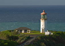 Kilauea Punkt-Leuchtturm Stockbilder