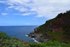 Kilauea punkt w Kauai Hawaje Zdjęcia Stock