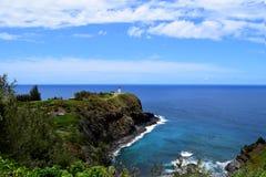 Kilauea punktu latarnia morska w Kauai Hawaje Obraz Royalty Free
