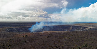 Kilauea Volcano on Big Island, Hawaii Royalty Free Stock Photos