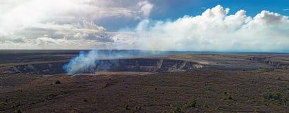 Kilauea Volcano on Big Island, Hawaii Royalty Free Stock Photography