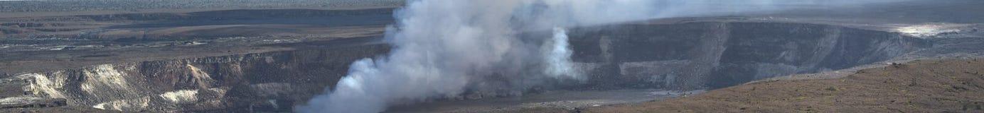Kilauea Volcano on the Big Island Royalty Free Stock Photos