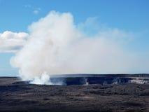 Kilauea volcano, Halema'uma'u Crater Stock Images