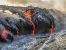 Kilauea Volcano Hawaii lizenzfreie stockfotos