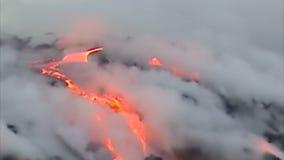 Kilauea Volcano Hawaii arkivfilmer