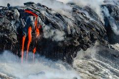 Kilauea Volcano Lava Flow stockbild