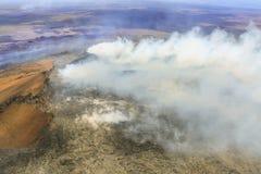 Kilauea-Vulkan, große Insel, Hawaii, USA lizenzfreies stockfoto