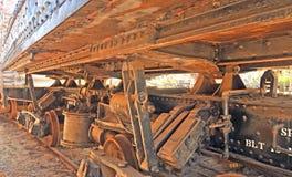 Kilbourne u. Jacobs Automatic Air Dump Car Lizenzfreie Stockbilder