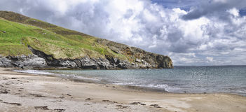 Kilcar beach Royalty Free Stock Photos