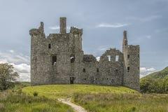 Kilchurn城堡04 库存照片