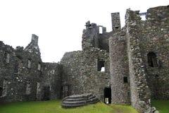 Kilchurn Castle, καταστροφή κάστρων στο δέο λιμνών, στο Χάιλαντς της Σκωτίας στοκ εικόνες