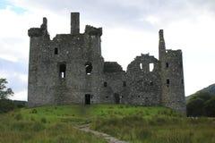 Kilchurn Castle, καταστροφή κάστρων στο δέο λιμνών, στο Χάιλαντς της Σκωτίας στοκ εικόνα με δικαίωμα ελεύθερης χρήσης