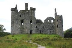 Kilchurn Castle, καταστροφή κάστρων στο δέο λιμνών, στο Χάιλαντς της Σκωτίας στοκ φωτογραφία με δικαίωμα ελεύθερης χρήσης