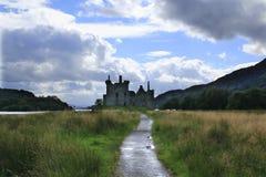 Kilchurn Castle, καταστροφή κάστρων στο δέο λιμνών, στο Χάιλαντς της Σκωτίας στοκ εικόνες με δικαίωμα ελεύθερης χρήσης